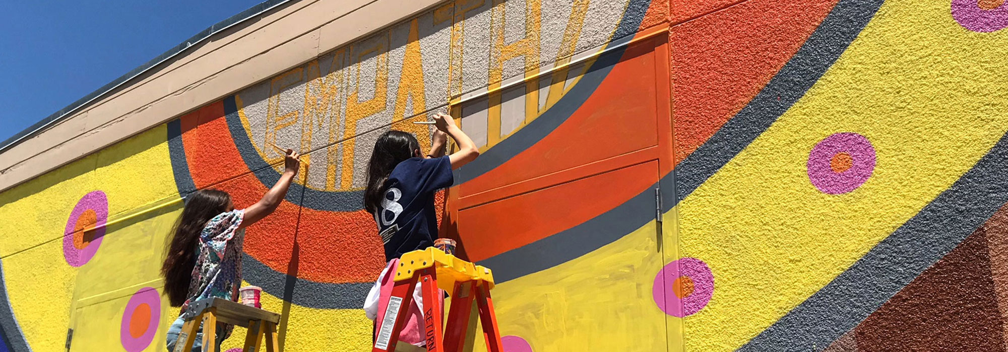 Transforming Young Lives through art In San Diego's Unified School District.