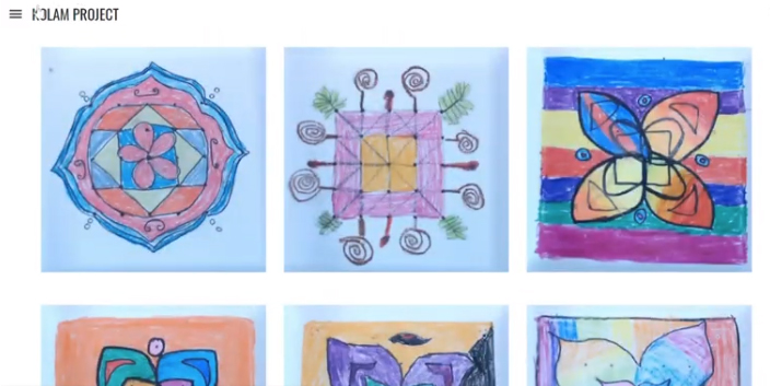 Thank you to the VAPA Foundation for funding the Kolam Project at Zamorano Fine Arts Academy